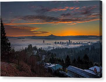 Early Bird Special Canvas Print by David Gn