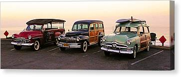 Pch Canvas Print - Early Birds by Ron Regalado