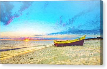 Artwork Canvas Print - Early Dawn by Garland Johnson