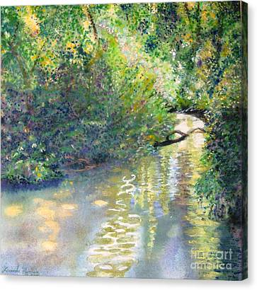 Early Glow Canvas Print by Lucinda  Hansen