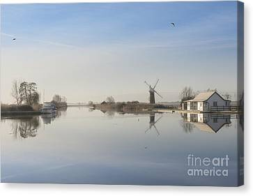 Early In The Morning Canvas Print by Svetlana Sewell