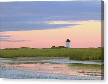Early Light At Wood End Light Canvas Print