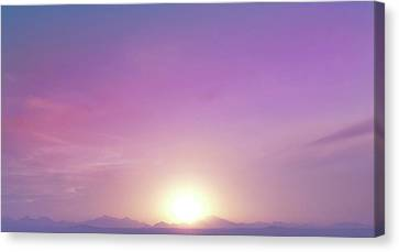 Early Morning 2 Canvas Print