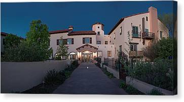 Early Morning At La Posada Canvas Print by Charles Ables