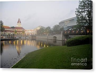 Early Morning At Port Orleans Riverside Canvas Print