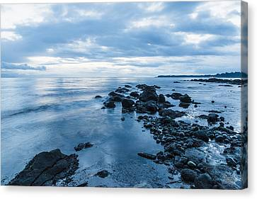 Early Morning Blues-2 Canvas Print