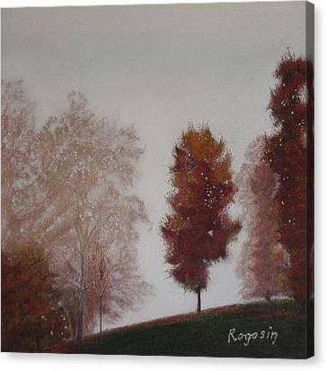 Early Morning Calm Canvas Print by Harvey Rogosin