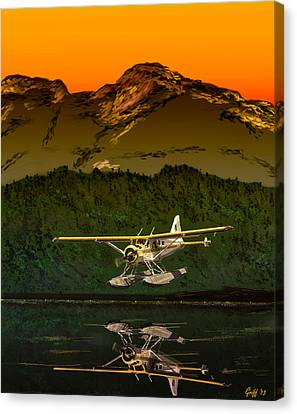 Early Morning Glass Canvas Print by J Griff Griffin