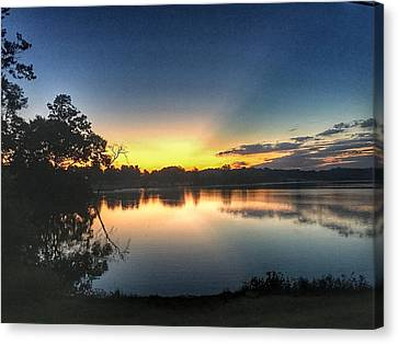 Early Morning Glow Canvas Print