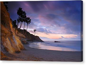Early Morning In Laguna Beach Canvas Print