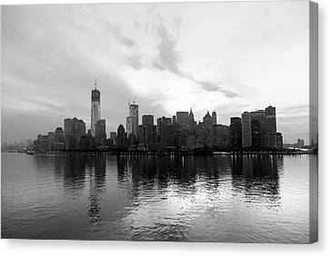 Early Morning In Manhattan Canvas Print