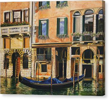 Early Morning In Venice Canvas Print