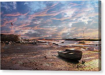 Early Morning Low Tide On The North Shore Canvas Print