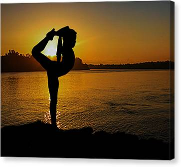 Early Morning Exercise Canvas Print