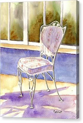 Early Morning Shadows Canvas Print by Marsha Elliott