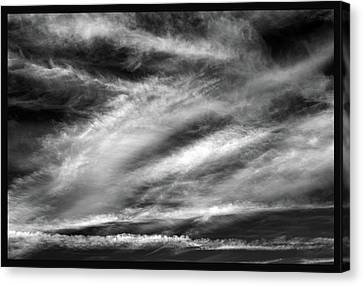 Canvas Print featuring the photograph Early Morning Sky. by Terence Davis