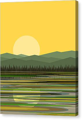 Early Morning Sun Canvas Print