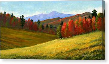 New England Autumn Canvas Print - Early October by Frank Wilson