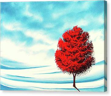 Early Snow Canvas Print by Rachel Bingaman