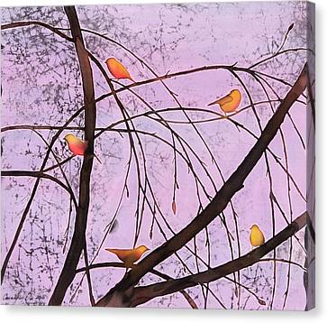 Early Spring 2 Canvas Print by Carolyn Doe