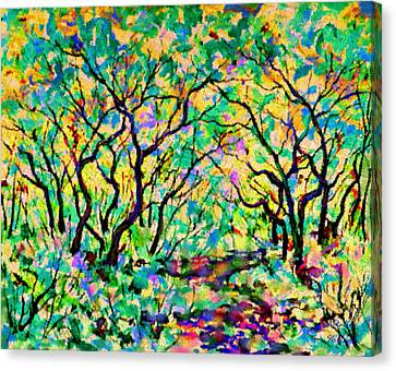 Early Spring Canvas Print by Natalie Holland