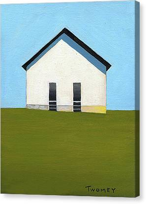 Earlysville Baptist Church Canvas Print by Catherine Twomey