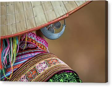 Earring Canvas Print by Hitendra SINKAR