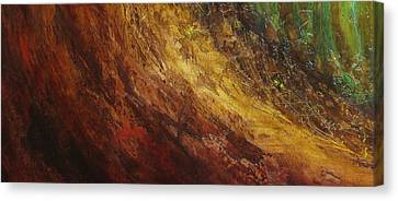Earth A Canvas Print by Pure Abstract