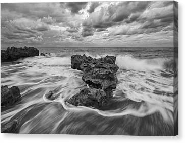 Earth And Sky Canvas Print by Mike Lang