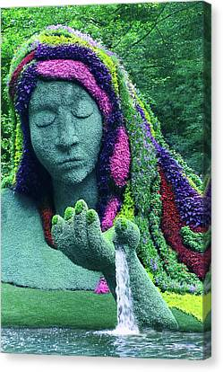 Earth Goddess Canvas Print
