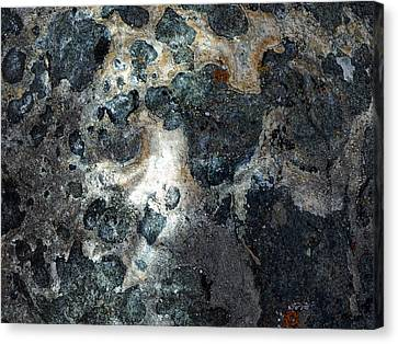 Canvas Print featuring the photograph Earth Memories - Stone # 8 by Ed Hall