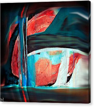 Canvas Print featuring the digital art Contrast And Concept by Yul Olaivar