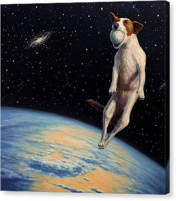 Earthbound Dream Canvas Print by James W Johnson