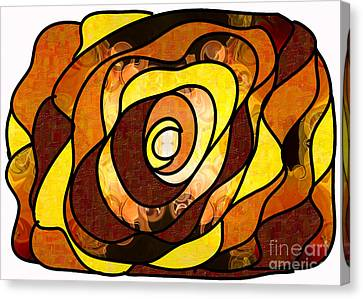 Earthly Dimensions Abstract Organic Art By Omaste Witkowski Canvas Print by Omaste Witkowski
