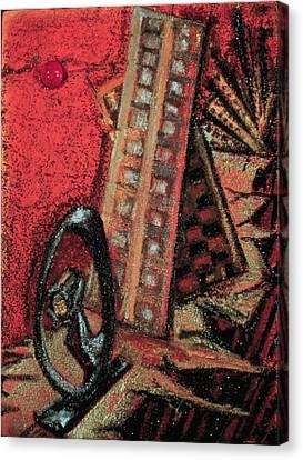 Earthquake Canvas Print by Ione Citrin