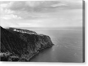 East Coast - Sao Miguel-azores Canvas Print by Henry Krauzyk
