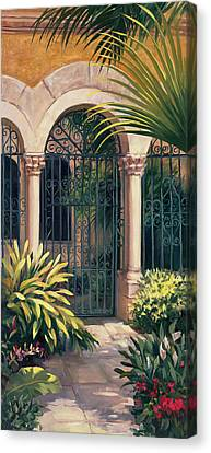 East Gate Canvas Print by Laurie Hein