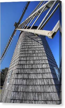 East Hampton Windmill Canvas Print by Steve Gravano