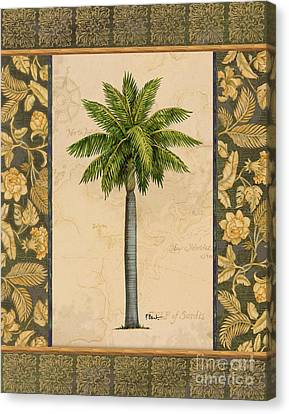 East Indies Palm II Canvas Print by Paul Brent