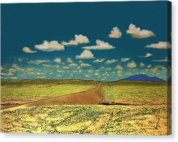 East Of Flagstaff Arizona Canvas Print by Kerry Beverly