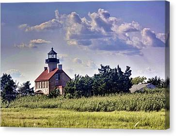East Point Light House Canvas Print by Kevin  Sherf