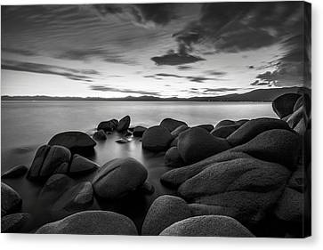 Canvas Print featuring the photograph East Shore Serenity - Lake Tahoe by Brad Scott