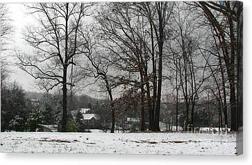 East Tennessee Winter Canvas Print by Todd A Blanchard