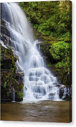 Eastatoe Falls Canvas Print