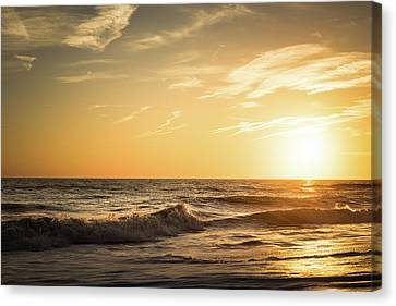Eastcoast Sunset Canvas Print