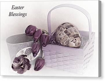 Easter Blessings No. 1 Canvas Print