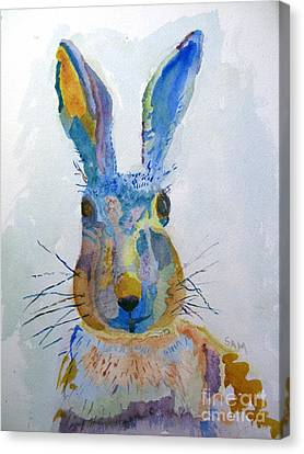 Easter Bunny Canvas Print by Sandy McIntire