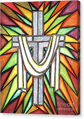 Easter Cross 5 Canvas Print by Jim Harris