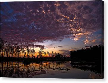 Easter Sonrise Canvas Print