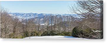 Easterly Winter View Canvas Print